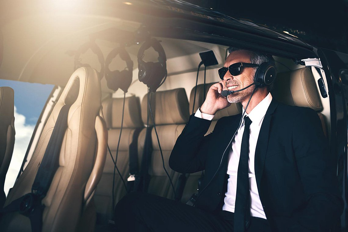 Executive Helicopter Charters in Atlanta
