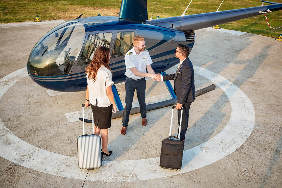 Specialty Helicopter Charters in Atlanta