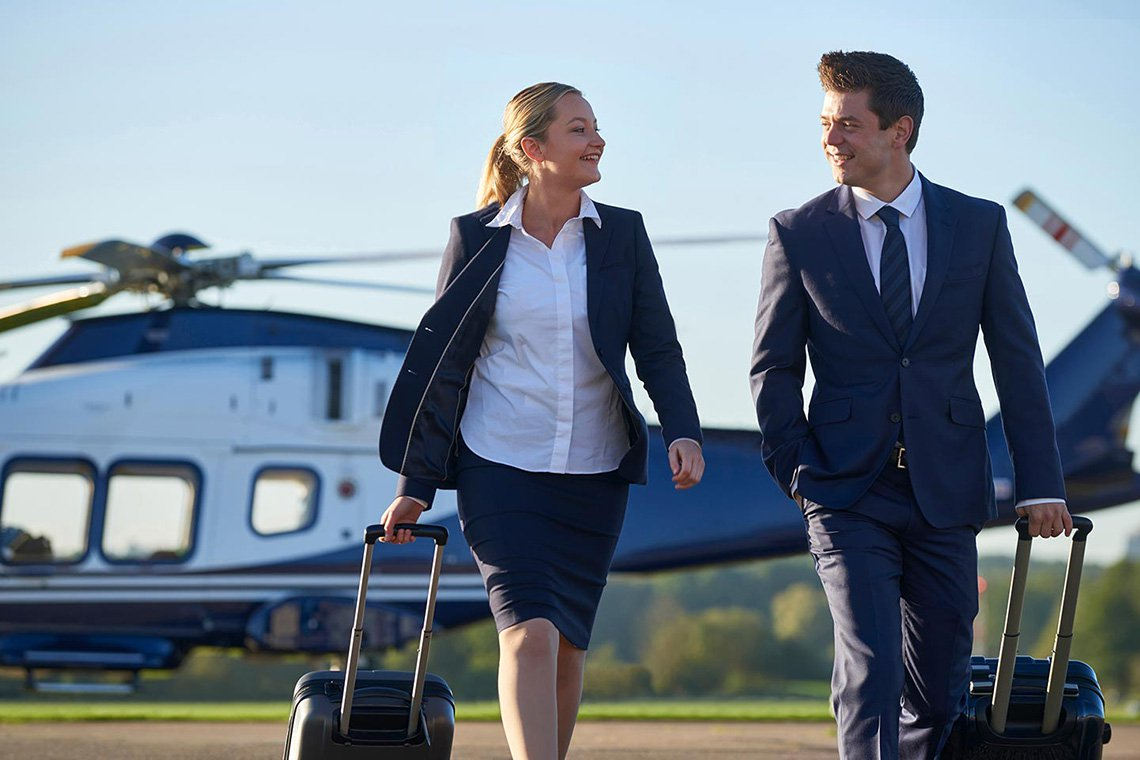 Business Helicopter Charters in Atlanta